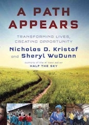 A path appears by Nicholas D. Kristof book cover
